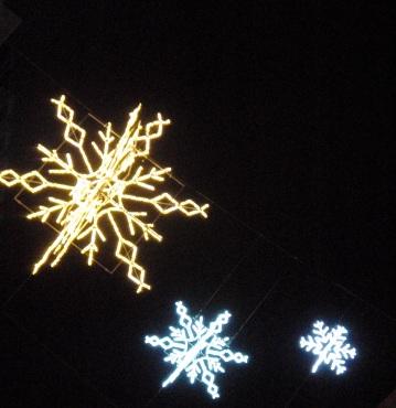 BOND STREET SNOWFLAKES