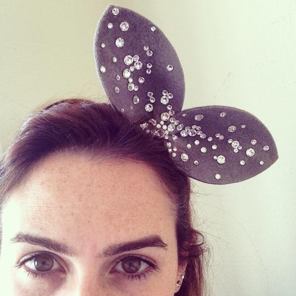 Crystal Bling Ears